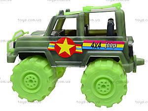Игрушечный джип «Военный», 05-502, цена