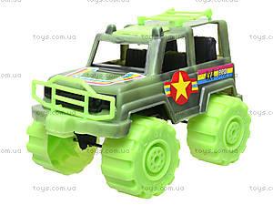 Игрушечный джип «Военный», 05-502, детские игрушки