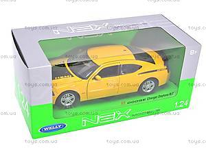 Машина Dodge Charger Daytona R/T 2006, 22476R-W, игрушки