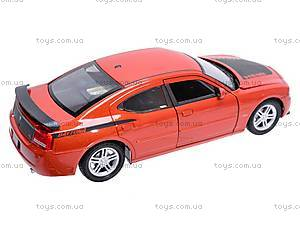 Машина Dodge Charger Daytona R/T 2006, 22476R-W, детские игрушки