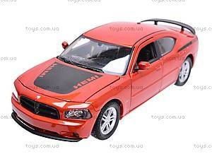 Машина Dodge Charger Daytona R/T 2006, 22476R-W, магазин игрушек