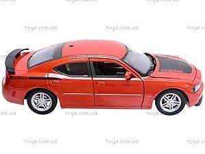 Машина Dodge Charger Daytona R/T 2006, 22476R-W, toys
