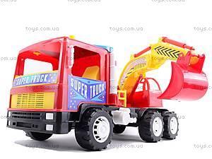 Машина-экскаватор «Супер Трак», 14-002, детские игрушки