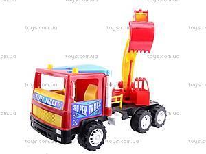 Машина-экскаватор «Супер Трак», 14-002, магазин игрушек