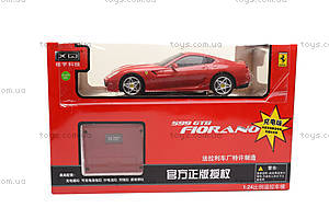 Машина Ferrari Fiorano, на радиоуправлении, XQ078, отзывы