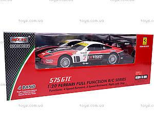 Машина Ferrari на радиоуправлении, 8121, детские игрушки