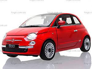 Коллекционная модель Fiat 500 2007, 22514W, магазин игрушек