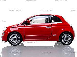 Коллекционная модель Fiat 500 2007, 22514W, toys.com.ua