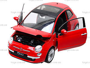 Коллекционная модель Fiat 500 2007, 22514W, toys