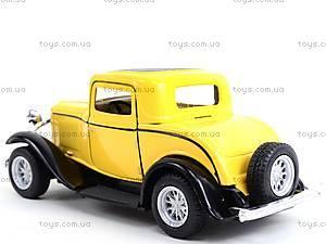 Машина Ford 3-window Coupe, KT5332W, магазин игрушек