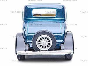 Машина Ford 3-window Coupe, KT5332W, игрушки