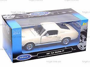 Машина Ford Mustang GT 1967, 22522W, купить
