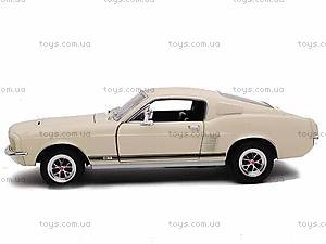 Машина Ford Mustang GT 1967, 22522W, игрушки