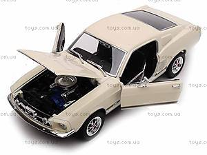 Машина Ford Mustang GT 1967, 22522W, детские игрушки