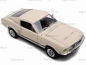 Машина Ford Mustang GT 1967, 22522W, магазин игрушек