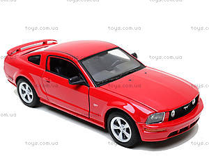 Машина Ford Mustang GT 2005, 22464W, купить игрушку