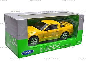 Машина Ford Mustang GT 2005, 22464W, детские игрушки