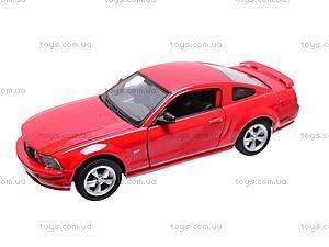 Машина Ford Mustang GT 2005, 22464W, магазин игрушек