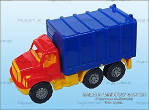 Машина-фургон «Магирус», 0480cp0030301032