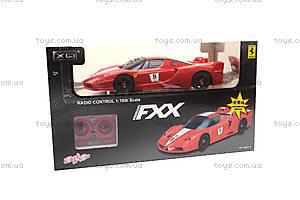 Машина FXX, на радиоуправлении, XQ063, детские игрушки