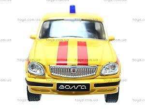 Машина ГАЗ 31105 «Аварийная служба», 42384EM-W, игрушки