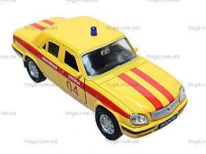 Машина ГАЗ 31105 «Аварийная служба», 42384EM-W, детские игрушки