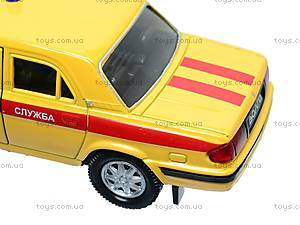 Машина ГАЗ 31105 «Аварийная служба», 42384EM-W, магазин игрушек