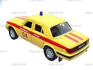 Машина ГАЗ 31105 «Аварийная служба», 42384EM-W, toys