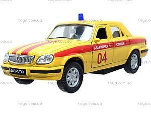 Машина ГАЗ 31105 «Аварийная служба», 42384EM-W, іграшки