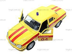 Машина ГАЗ 31105 «Аварийная служба», 42384EM-W, детский