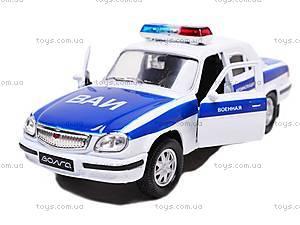 Машина  ГАЗ-31105 «Военная автоинспекция», 42384MC-W
