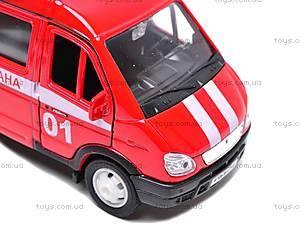 Машина ГАЗ 3221 «Пожарная охрана» , 42387AFS-W, фото
