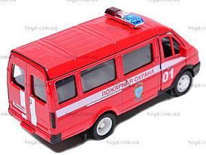 Машина ГАЗ 3221 «Пожарная охрана» , 42387AFS-W, отзывы