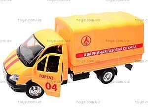 Машина Газель «Аварийная служба», 9557-D, магазин игрушек
