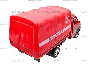 Машина Газель «Пожарная», 9557-A, игрушки