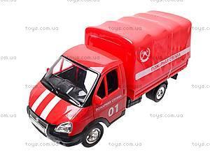 Машина Газель «Пожарная», 9557-A, магазин игрушек