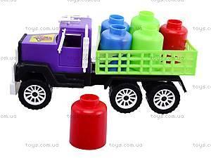 Машина «Грузовик» с бочками, 05-402, фото