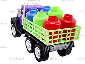 Машина «Грузовик» с бочками, 05-402, цена