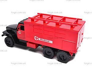 Машина-грузовик «Скорая», YP6688-3E, фото