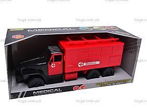 Машина-грузовик «Скорая», YP6688-3E, отзывы