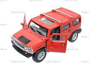 Машина Hummer H2, KT5337W, магазин игрушек
