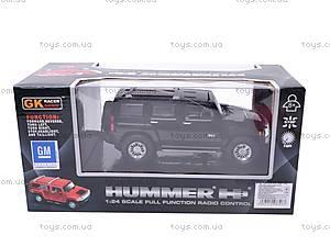 Машина HUMMER, с радиоуправлением, 866-378, отзывы