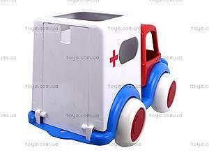 Машина игрушечная «Скорая помощь», С-61-Ф, купить