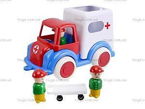 Машина игрушечная «Скорая помощь», С-61-Ф, отзывы