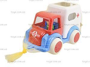 Машина игрушечная «Скорая помощь», С-61-Ф