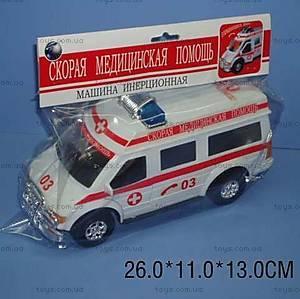 Игрушечный автобус «Скорая помощь», 34766B