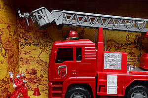 Машина инерционная «Пожарка», 661-2, купить