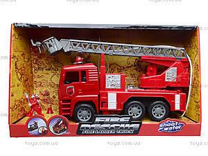Машина инерционная «Пожарка», 661-2, фото