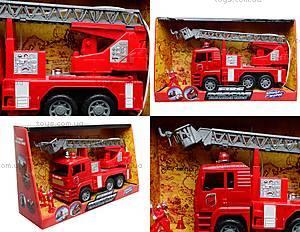 Машина инерционная «Пожарка», 661-2