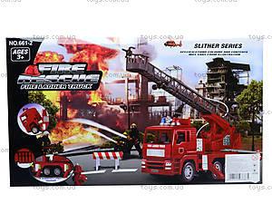 Машина инерционная «Пожарка», 661-2, игрушки